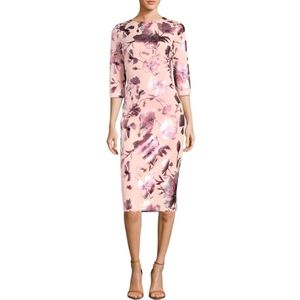 🆕️ ECI Pink 3/4 Sleeve Dress